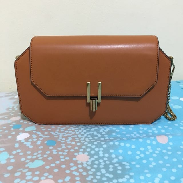Charles and Keith sling brown