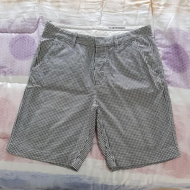 Checkered short