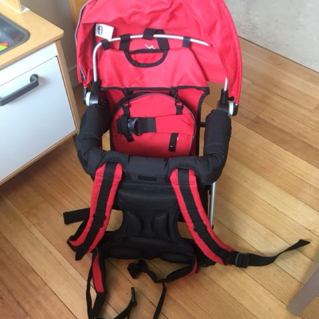9fbec6f1e50 Chicco Caddy backpack - new !