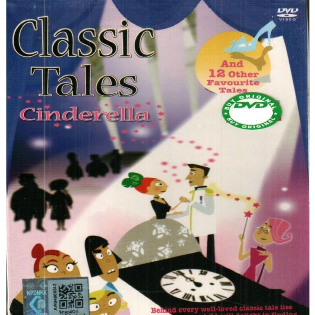 Classic Tales Cinderella + 12 Classical Fun Stories Anime DVD