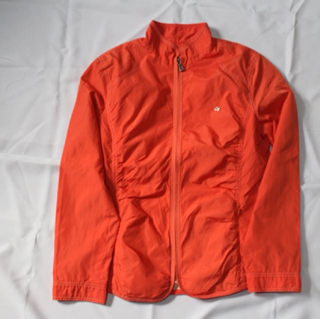 Crocodile Orange Jacket