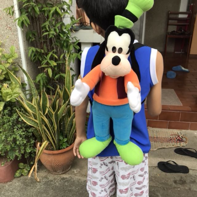 Cute Goofy Plushy Backpack Repriced! 499