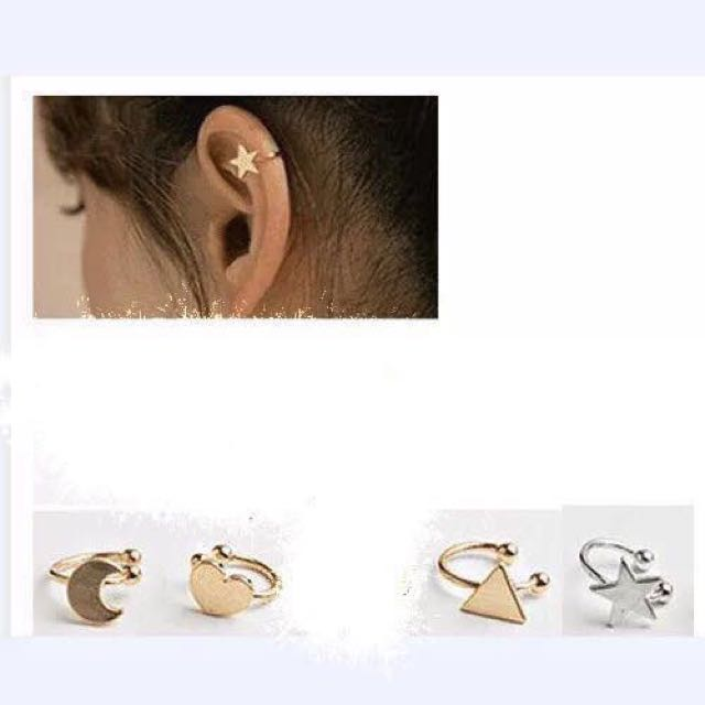 Earcuff (no need to pierce your ears) @250 with box