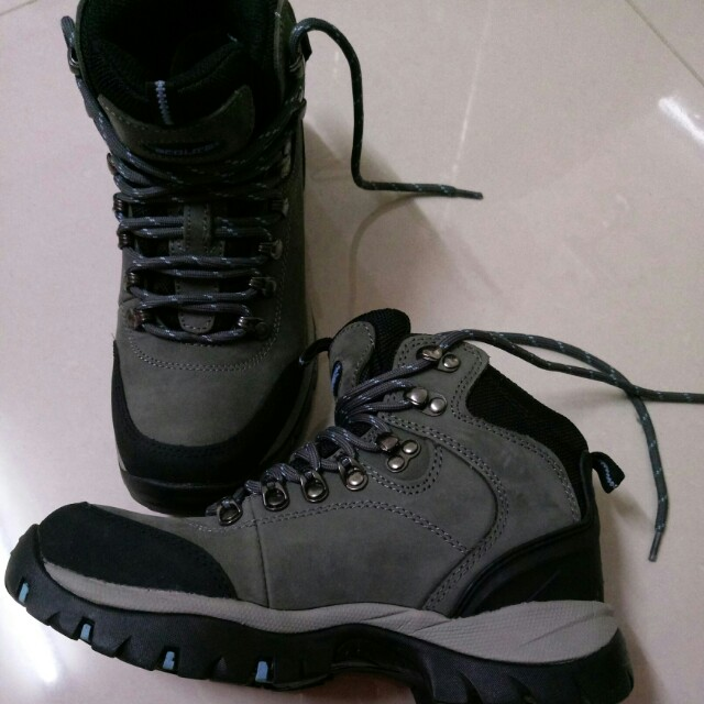 013c9d5a031 Ecolite Torrance Mid WP Hiking Boots Grey -Womens