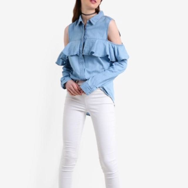 Factorie Fancy Frill Shirt