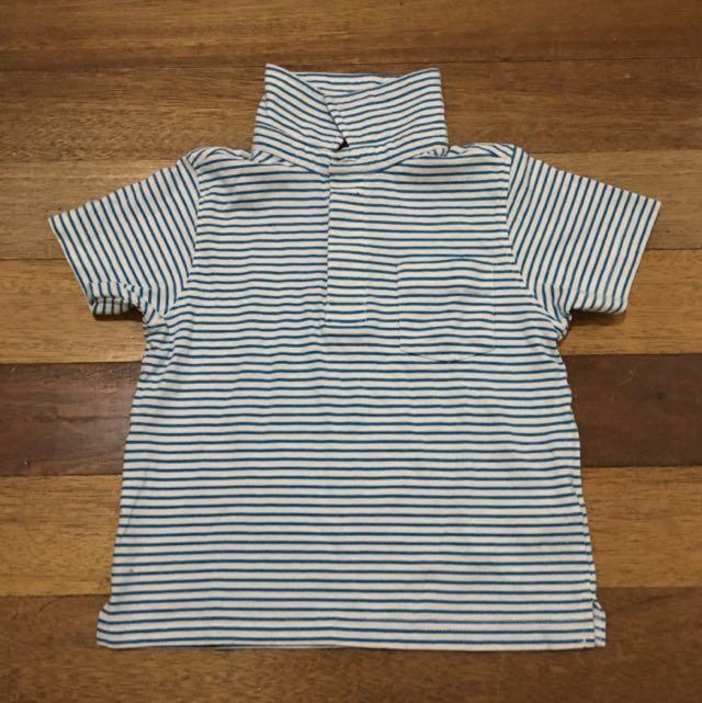 FLASH SALE: P80 Pre-loved Indigo Polo Shirt