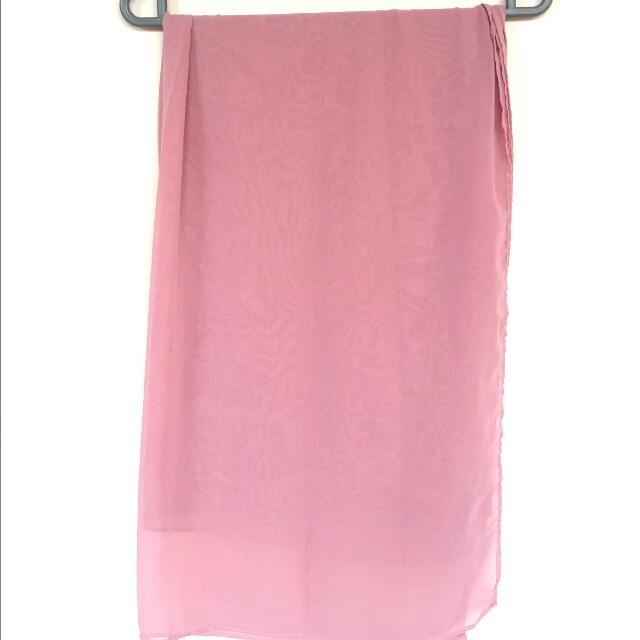 [FLASH SALE!] Pink Chiffon Scarf