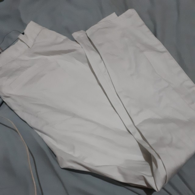 For Me white office pants