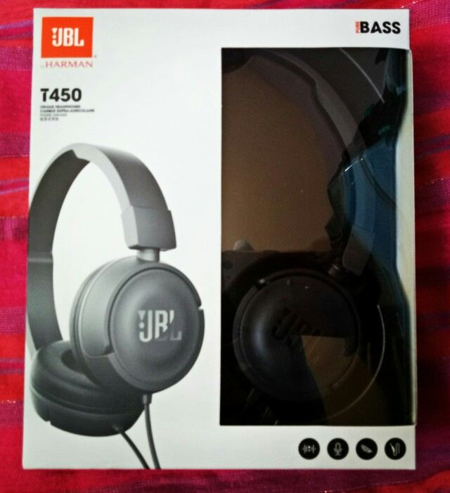 (free sf) JBL T450 headphones