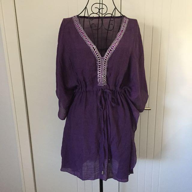 (FS) purple kaftan