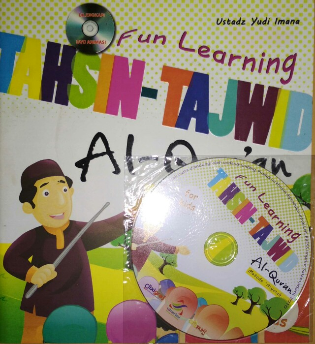 Fun Learning TAHSIN - TAJWID Al-Qur'an Metode 'Asyarah  Dilengkapi DVD ANIMASI  Ustadz Yudi Imana  For Kids  CHILL PRESS