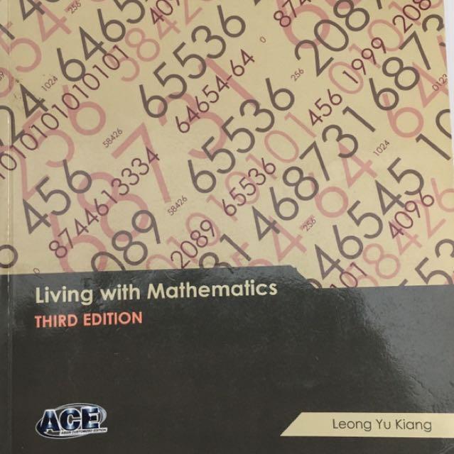 GEH1036/GEK1505 Living with Mathematics