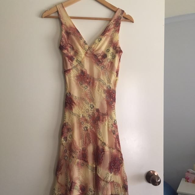 Gian Carlo lace dress
