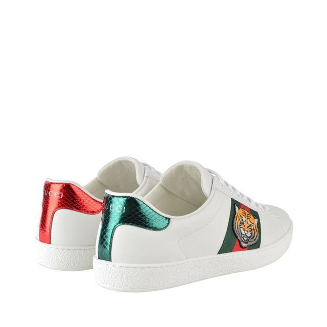 13298d4cc8c Gucci Ace Tiger Embroidered Sneaker (101% Authentic)