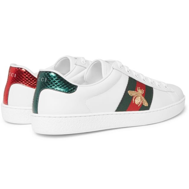 360df99b5f5 Gucci Ace Water-Snake Embroidered Sneaker (101% Authentic)