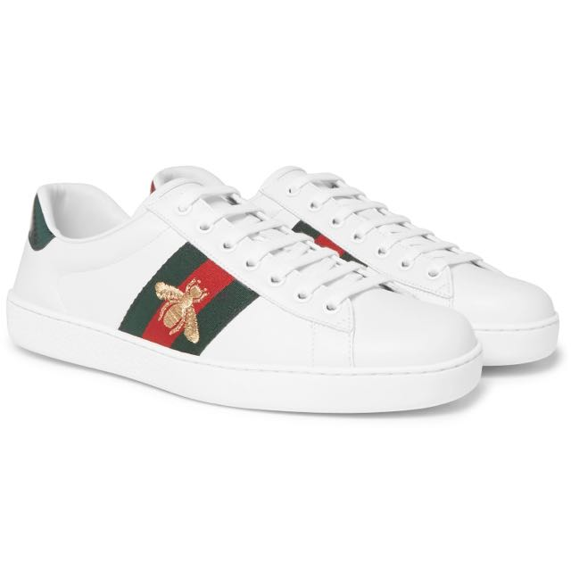 6dc91b92a Gucci Ace Water-Snake Embroidered Sneaker (101% Authentic), Men's ...