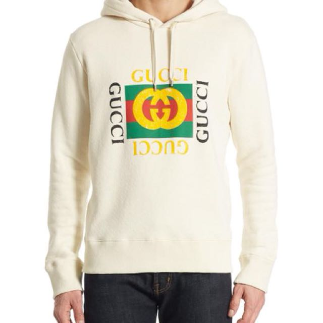 917b9352b Gucci hoodie, Men's Fashion, Clothes on Carousell