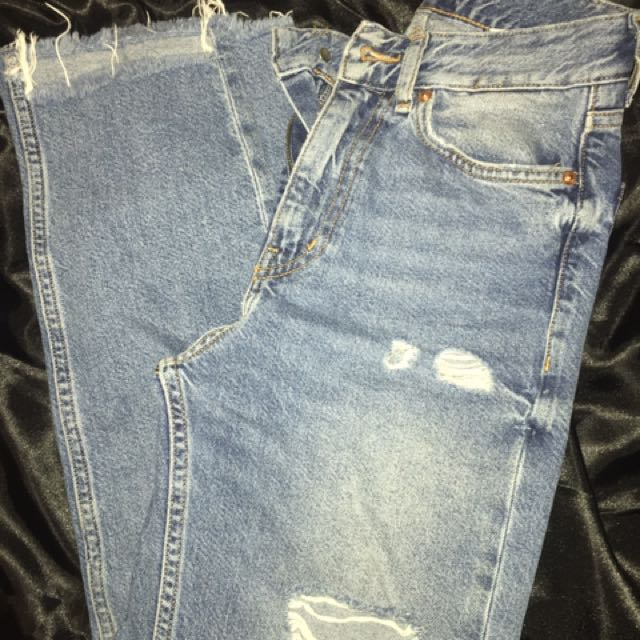 H&M High Waisted Boyfriend Jeans