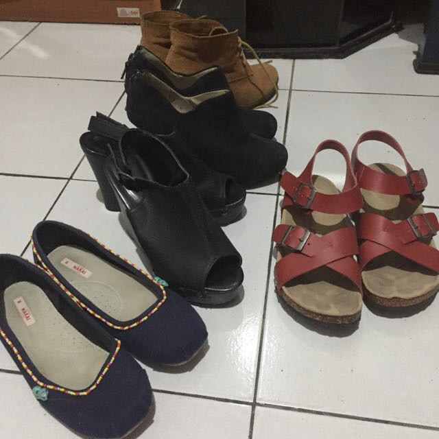 Insight Wedges Boots