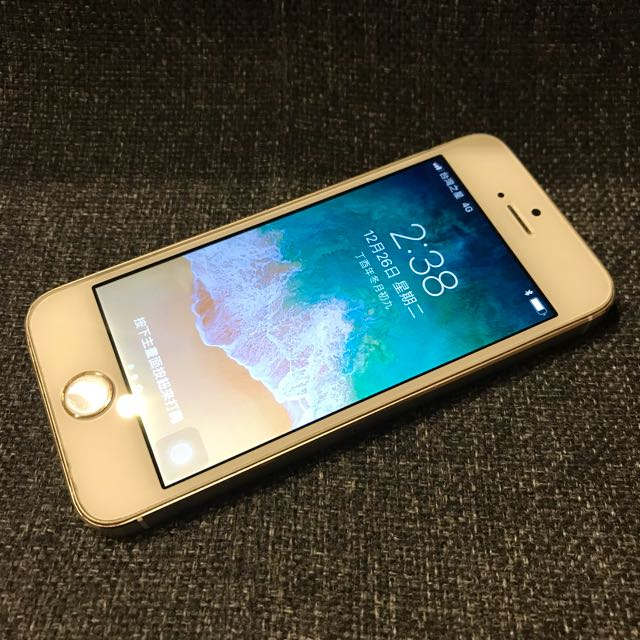 iPhone 5S 32G 金 非16G 非i5