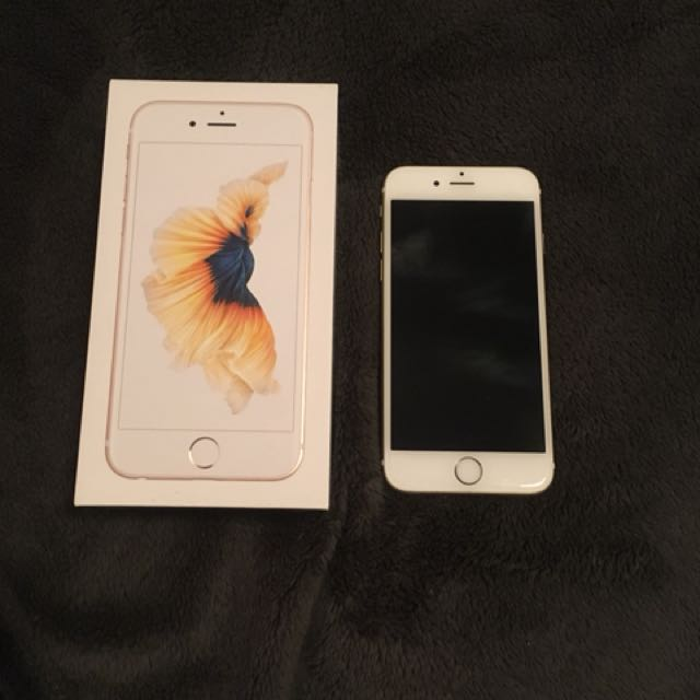 iPhone 6S, unlocked, excellent condition