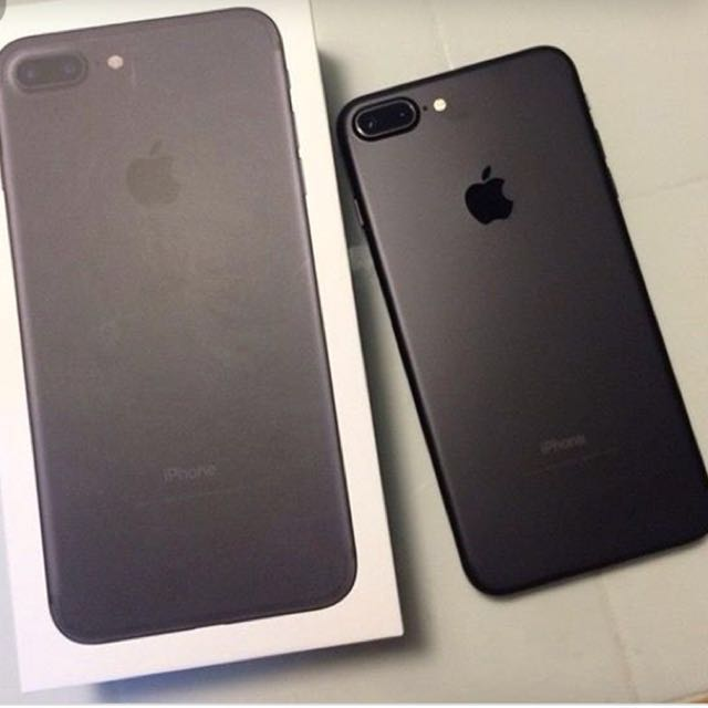IPhone 7 Plus 128GB matte black (Like new condition