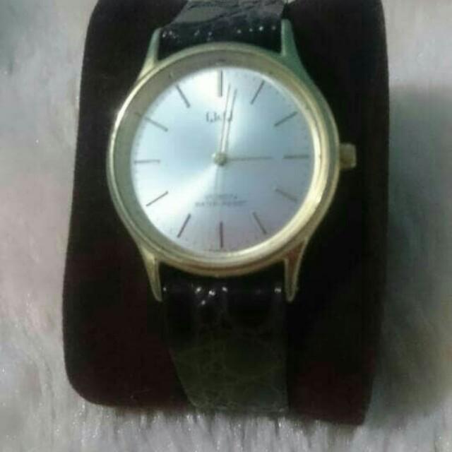 Jam tangan second import QnQ watch Voken water resist