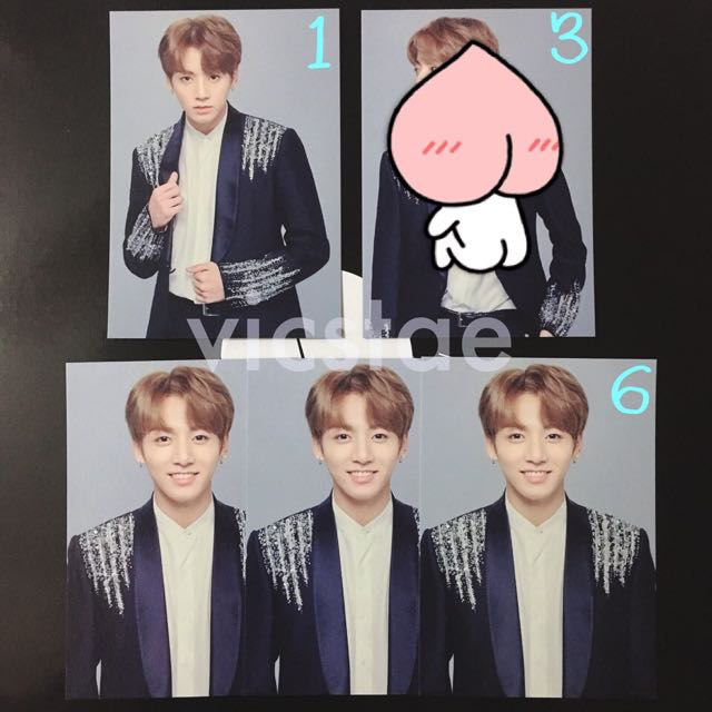 JUNGKOOK / MINI PHOTOCARDS / BTS THE WINGS TOUR -THE FINAL- OFFICIAL MD