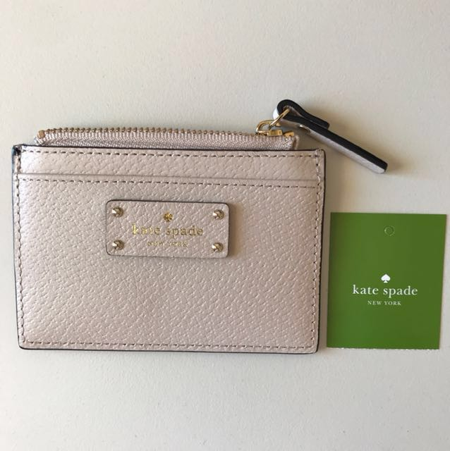 Kate Spade card holder NWT