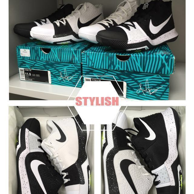 best authentic 87cb6 a9f15 Kyrie 3 TB yin yang kyrie3, Men's Fashion, Footwear on Carousell