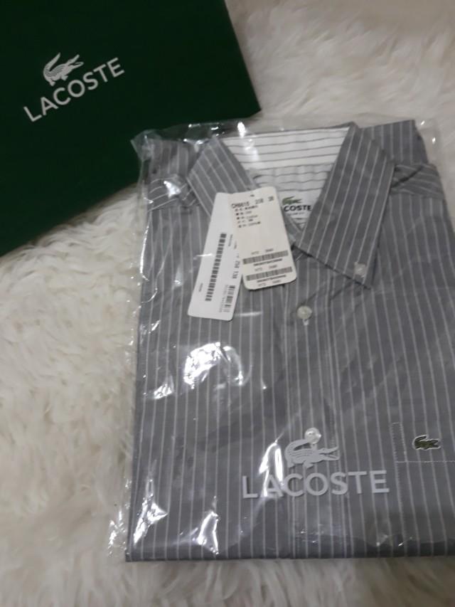 Lacoste鱷魚名牌♂️男襯衫