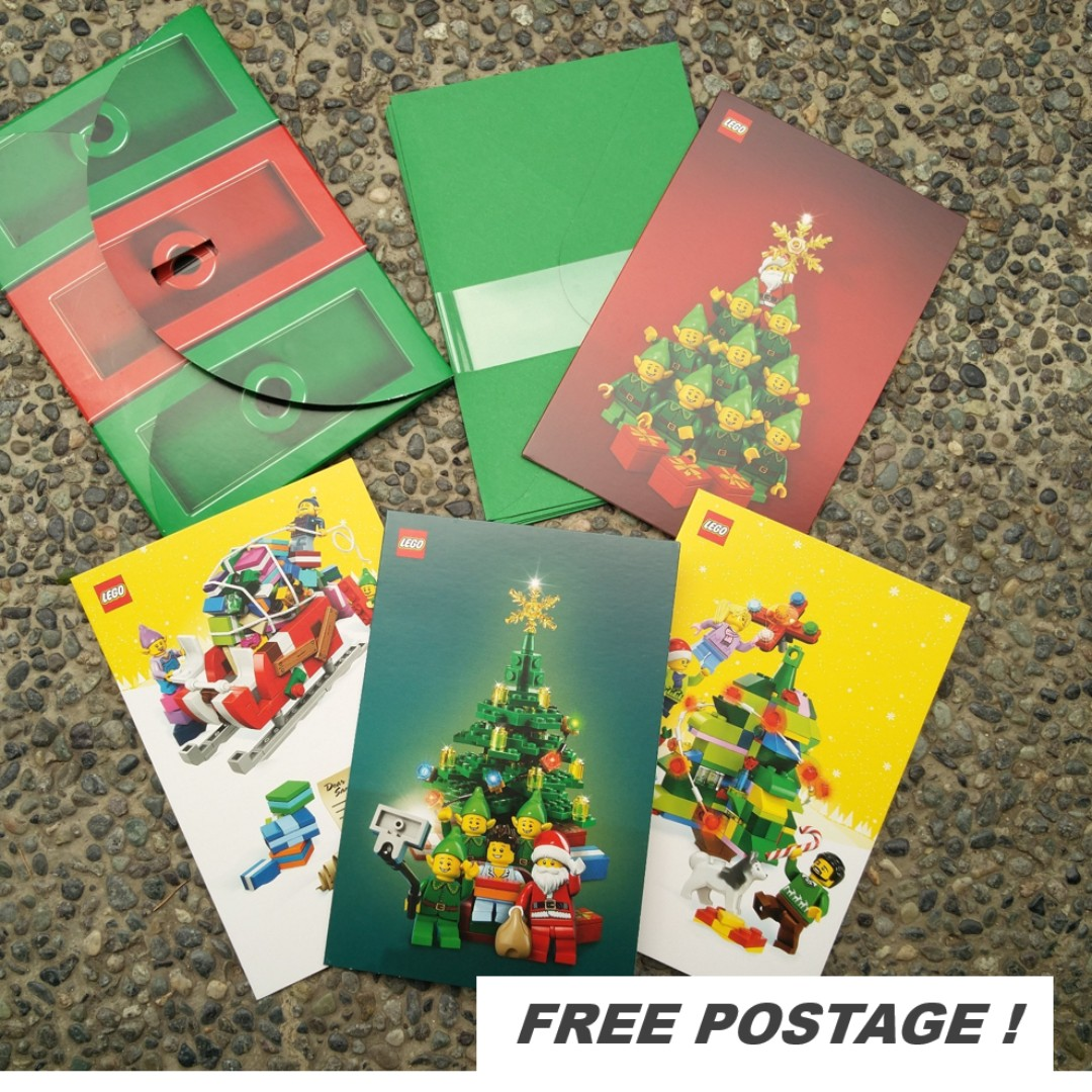 🆕⭐Lego Limited Edition Christmas Cards #freepostage