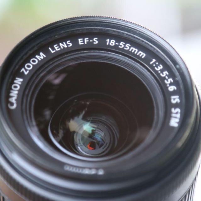 Lensa kit 18-55 is STM Canon