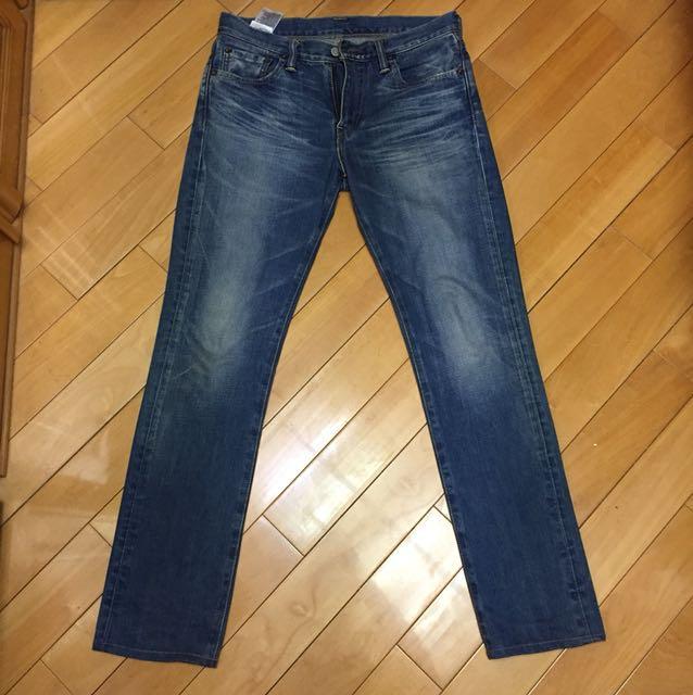 (日本製)Levis 511 刷色窄管 牛仔褲 余文樂