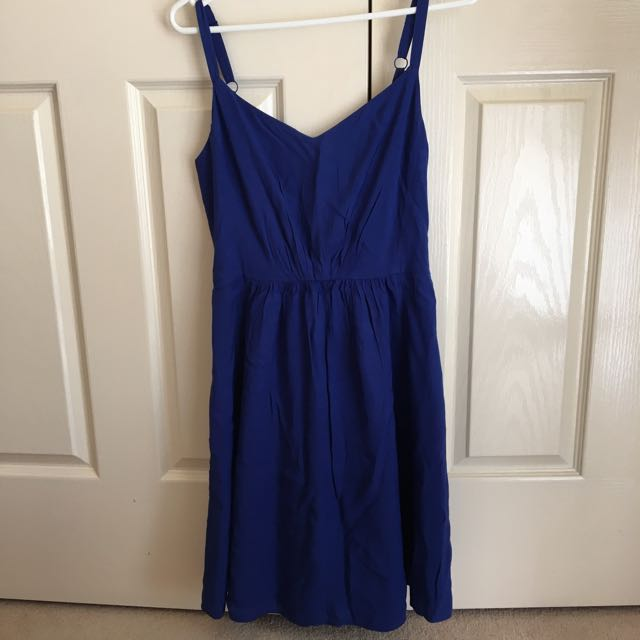 LIKE NEW Marcs Cobalt Blue Summer Dress - Size 8