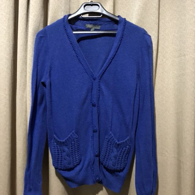 Lily Blue Cardigan for Woman (size S - M)