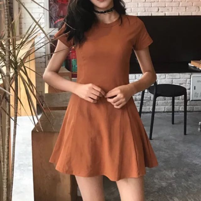 Little brown dress