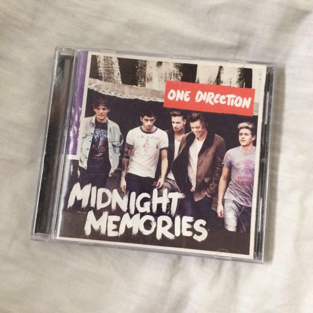 Midnight Memories 1D Album (One Direction)