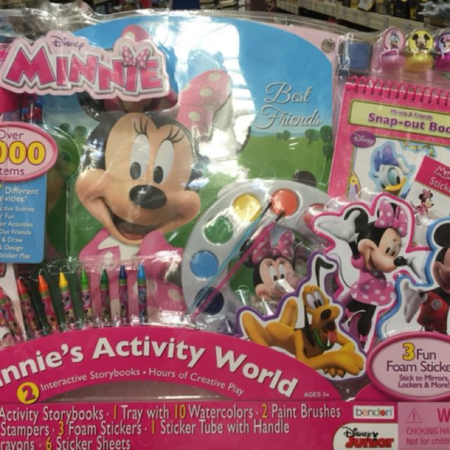 Minnie Mouse Creativity Set on Carousell