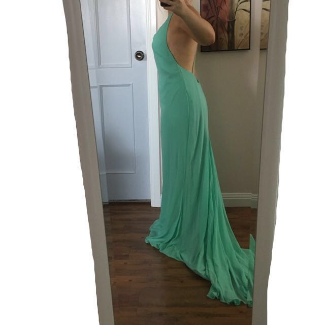 MINT CUSTOM MADE DRESS