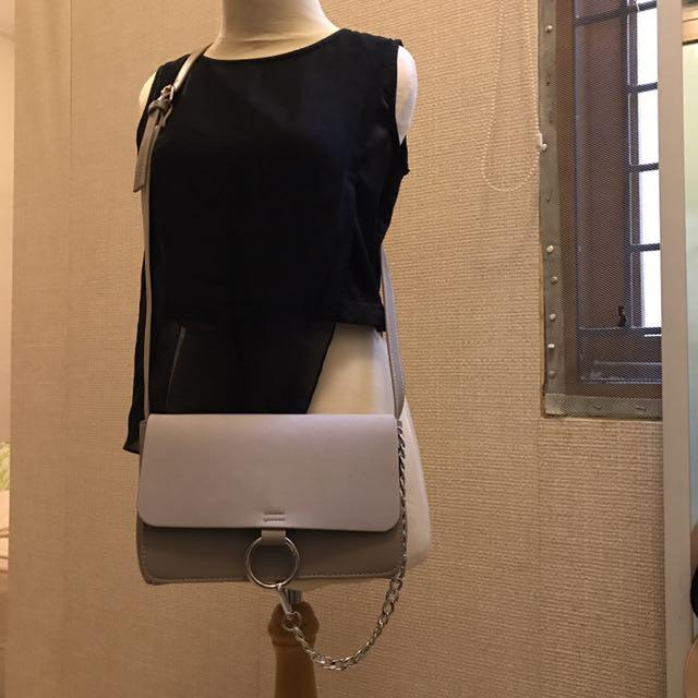 NAKD Grey Sling Bag
