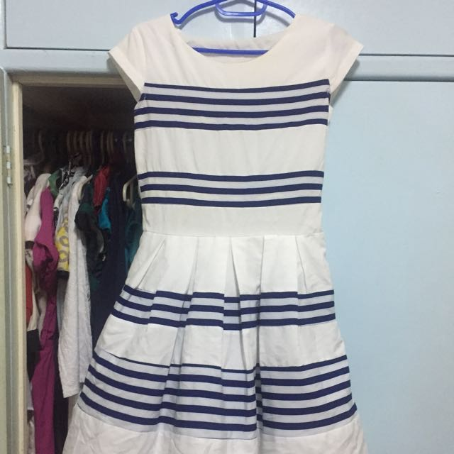Nautical chic dress