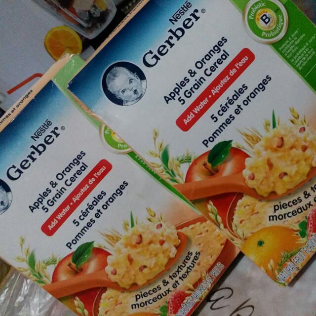 Nestle Gerber Grain Cereals For 12mths Up