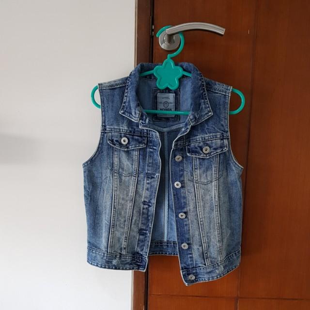 Nevada jeans vest