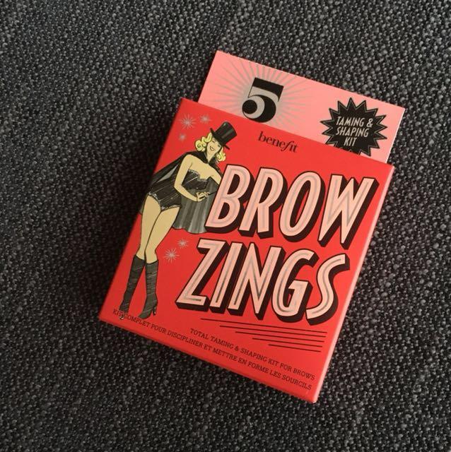 NEW Benefit Brow Zings