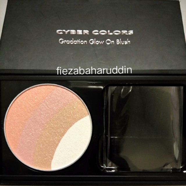 New Cyber Colors Blusher in Coral Quartz