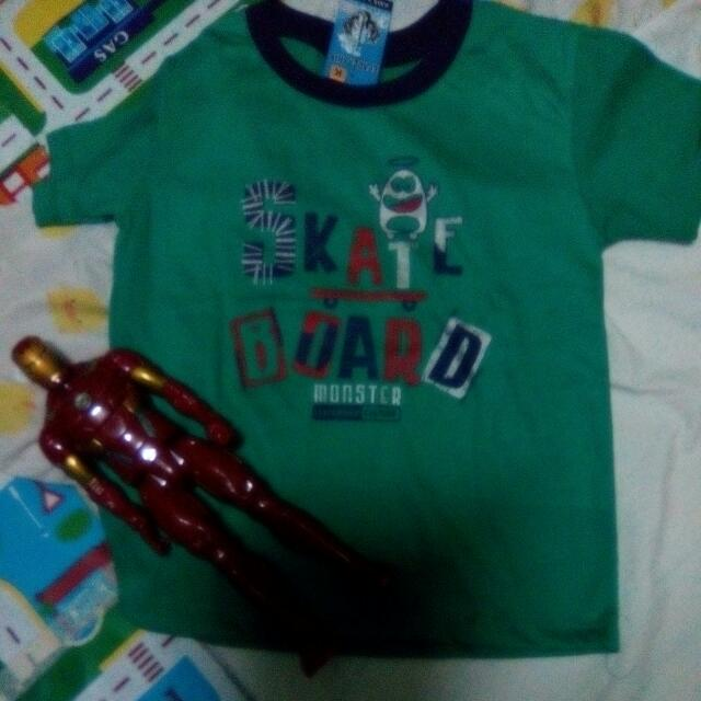 New Shirts For Boys, Large ,Shirt C, For Ages 3-6 Yrs Old