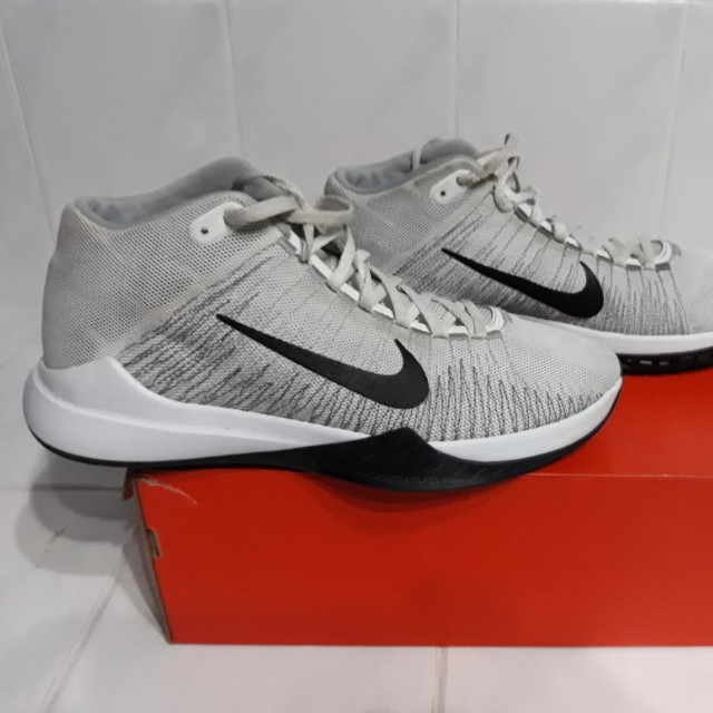 big sale 22dd2 4c8e8 ... closeout nike zoom ascention white basketball shoes mens fashion  footwear on carousell 80bc8 3bae2