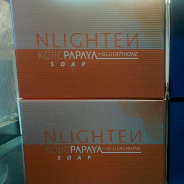 Nlighten Kojic Papaya w/ GLUTATHIONE and PREMIUM SOAP