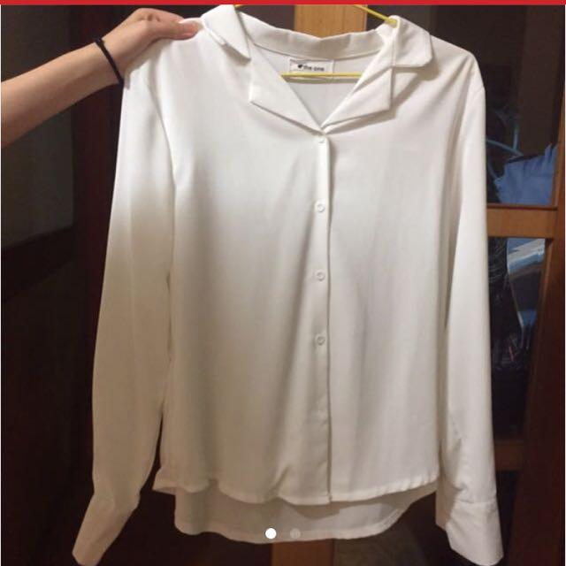 OL白襯衫